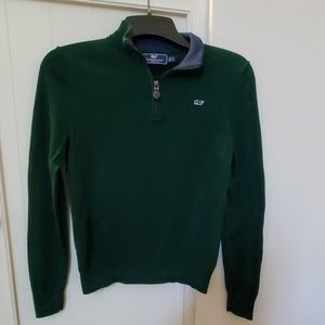 Boys - Vineyard Vines Forest Green Sweater